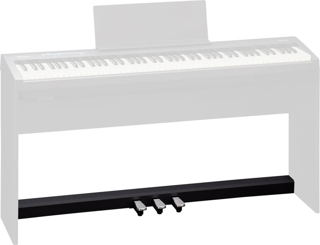 Roland 3 Pedal Unit For Fp 30 Bk Digital Piano Black