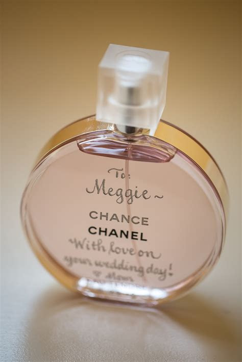 THE FRAGRANCE: I was told that on your wedding day, you