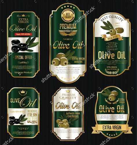 19  Oil Label Templates   PSD, AI, EPS, Vector Format Download