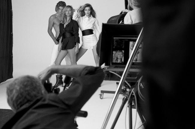 Gigi Hadid Y Kate Moss