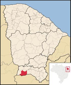 Localização de Araripe