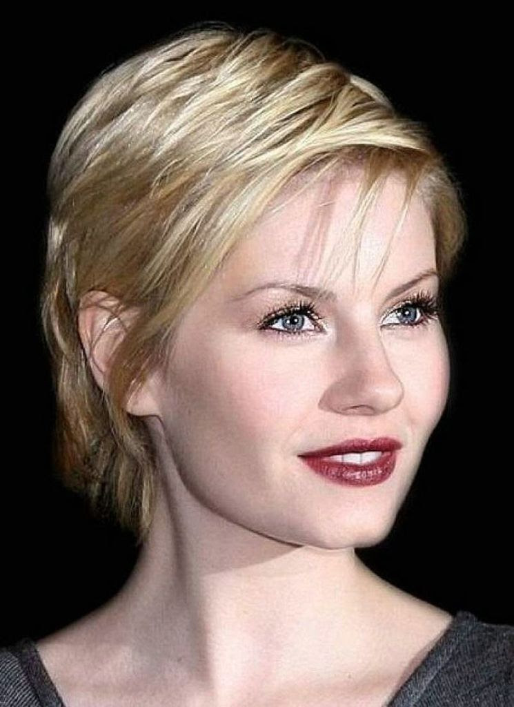 40 Classic Short Hairstyles For Round Faces \u2013 The WoW Style