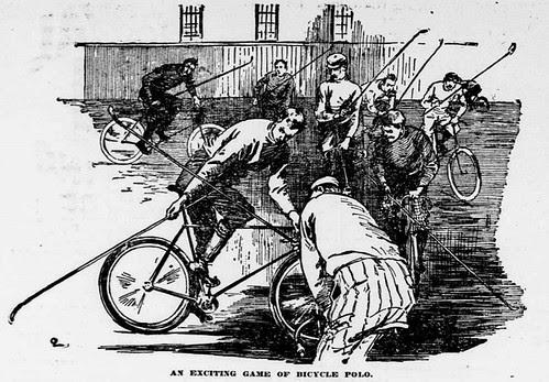 Bicycle Polo 1896