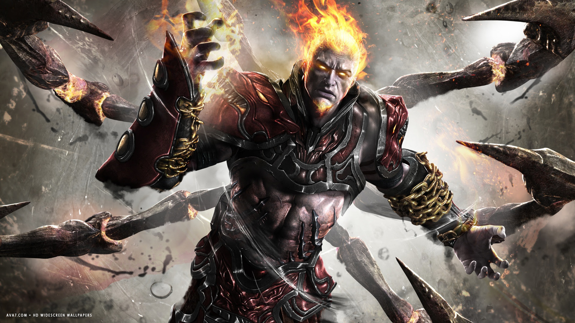 God Of War Ascension Game Ares Hd Widescreen Wallpaper Games