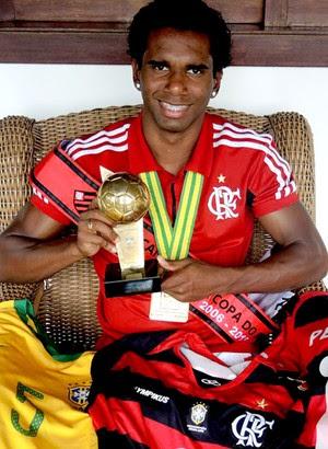 Luiz Antonio jogador Flamengo (Foto: Cahê Mota)
