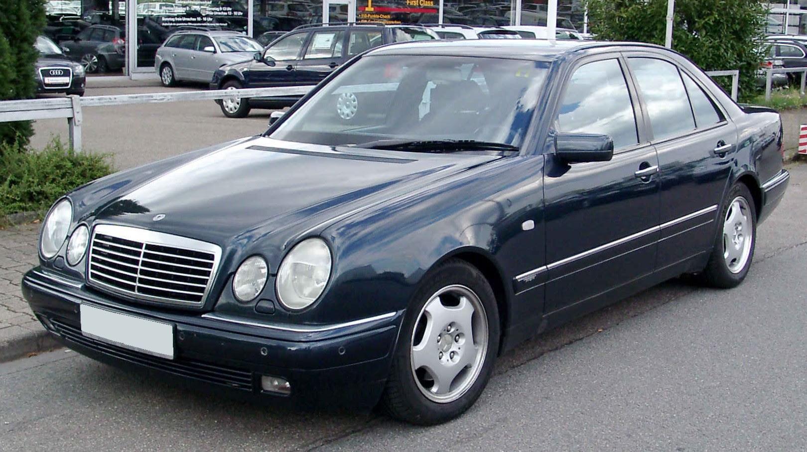 Mercedes-Benz W210 - Wikiwand