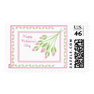 Bunch of Rose Buds Stamp stamp