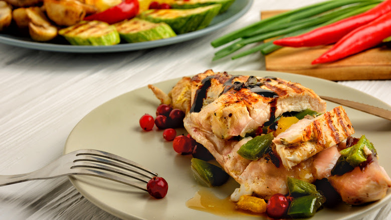 What healthy people eat for dinner