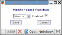 function zoneminder monitor
