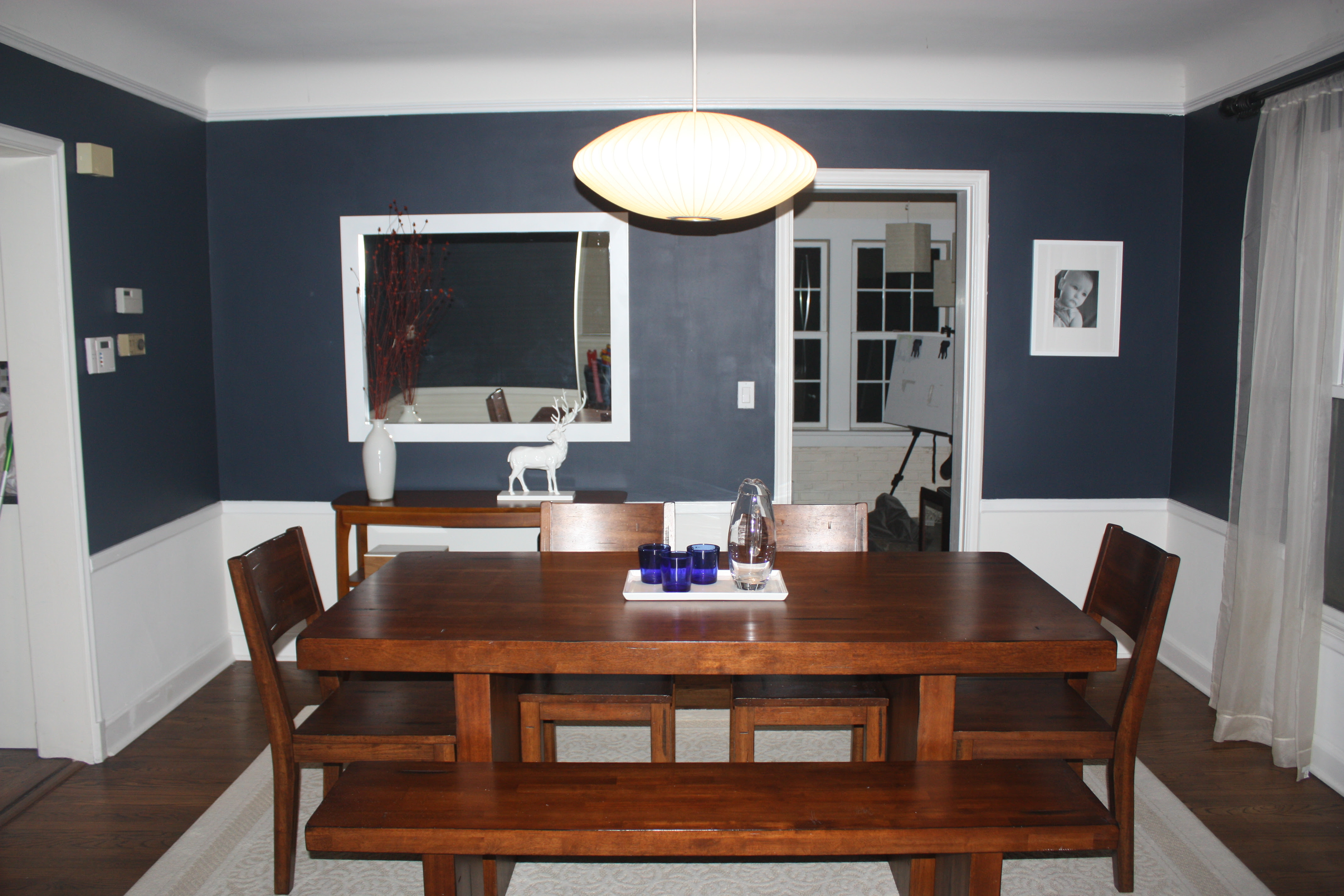 "A ""Tweaked"" Dining Room 