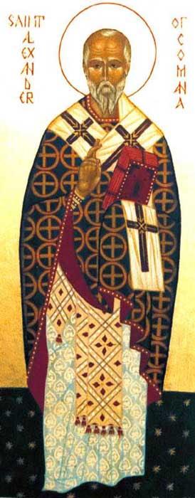 IMG ST. ALEXANDER, Bishop of Comana