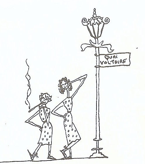 Illustration by Jacqueline Kennedy Onassis from One Special Summer.
