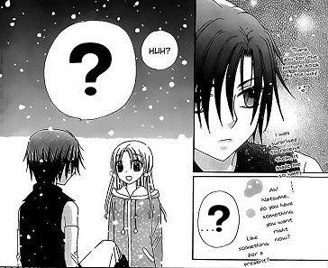 Gakuen Alice Mikan And Natsume Kiss
