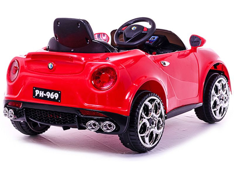 Alfa Romeo Roadster Replica Kids Electric Car RED  12v Motorised Sit and RideIn Toy