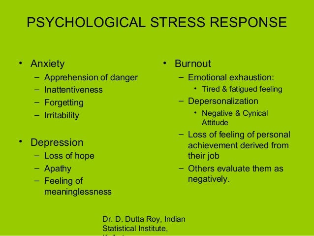 Stress theories