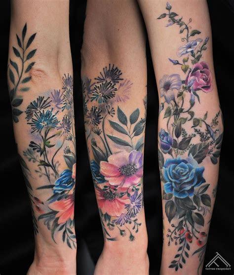 roses hand tattoos colors nature tattoo