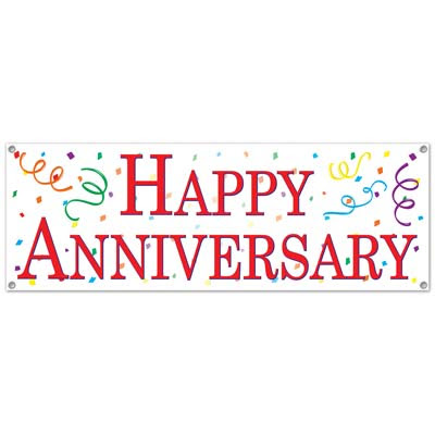 7 Images Of Printable Anniversary Signs Happy Anniversary Clip Art