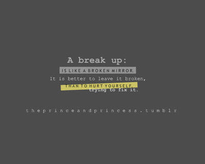 A Break Up Is Like A Broken Mirror Pictures Photos And Images For