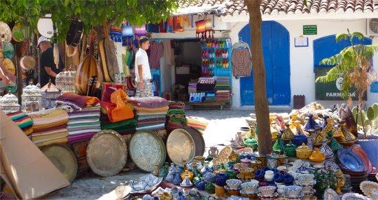 Street Market Chefchaouen