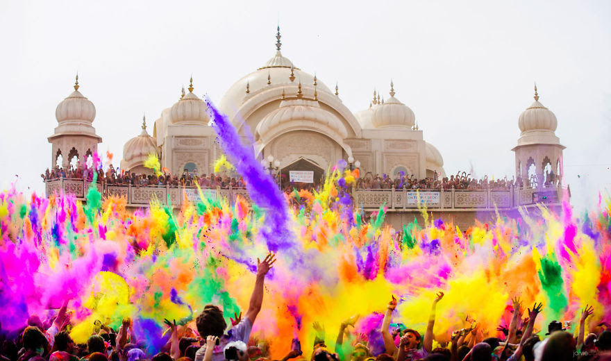 Holi: World's Biggest Color Festival (India)