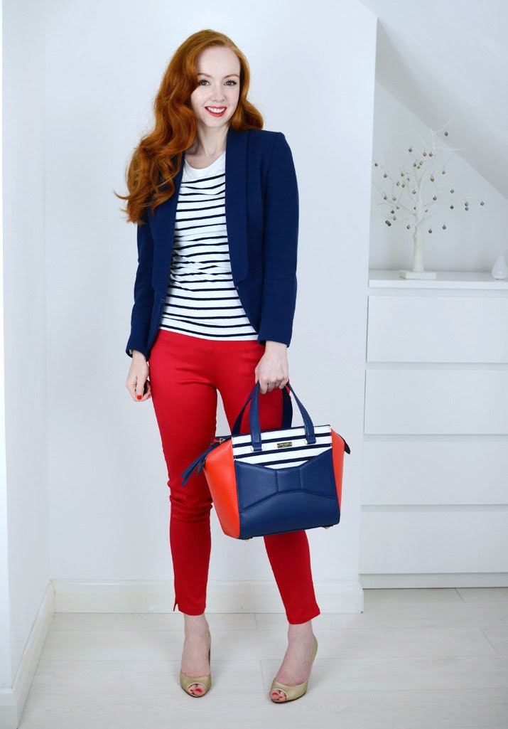 how to wear red pants 6 ways to wear red capri pants