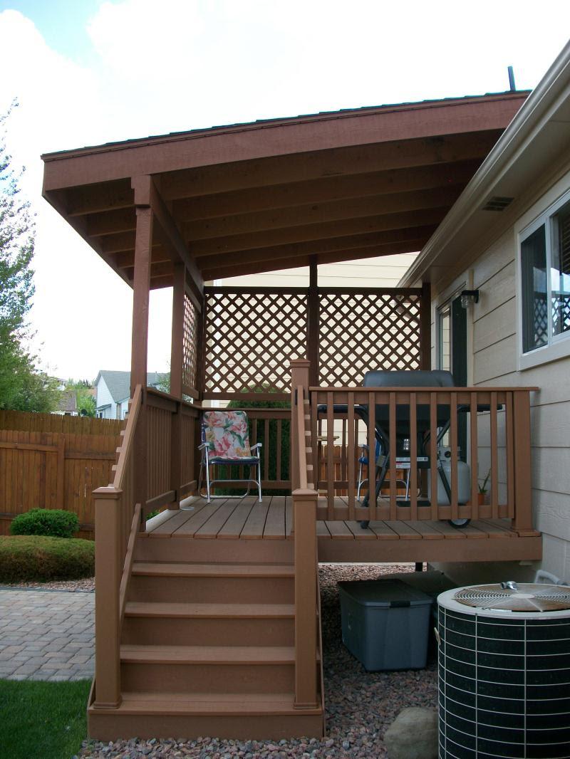 Deck Cover Ideas - HomesFeed