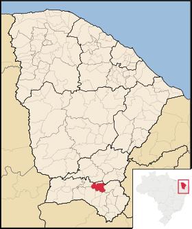 Localização de Caririaçu