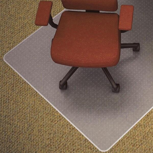 Lorell Medium-pile Carpet Chair Mat - 16724212 - Overstock ...