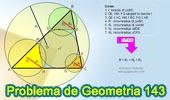 Problema de Geometría 143. Triangulo, Circunferencia Inscrita, Circunscrita, Tangente, Paralela, Circunradios.