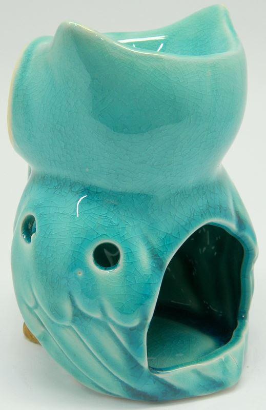 Ceramic Owl Shape Design Tart & Candle & Oil Warmer ...