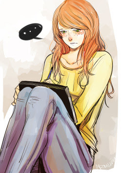 Destressing with Clary! I think we all can relate to Clary when it comes to venting out.