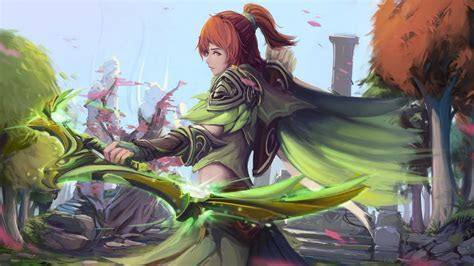 Windranger Dota 2 Game Fantasy Girl Wallpaper #4268