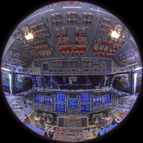 Space Shuttle Endeavour 360° VR Panorama by jurvetson