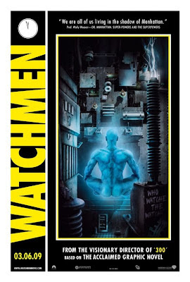 Watchmen Character Movie Posters - Billy Crudup as Jon Osterman / Dr. Manhattan