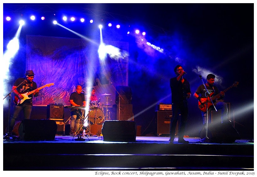 Eclipse, Rock Music Concert, Guwahati, Assam, India - Images by Sunil Deepak