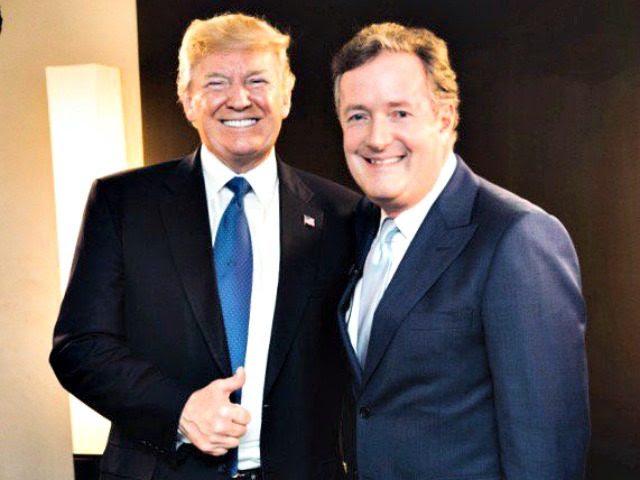 Trump, Piers Morgan