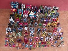 Mi colección de Transformers (21/Mar/2008)