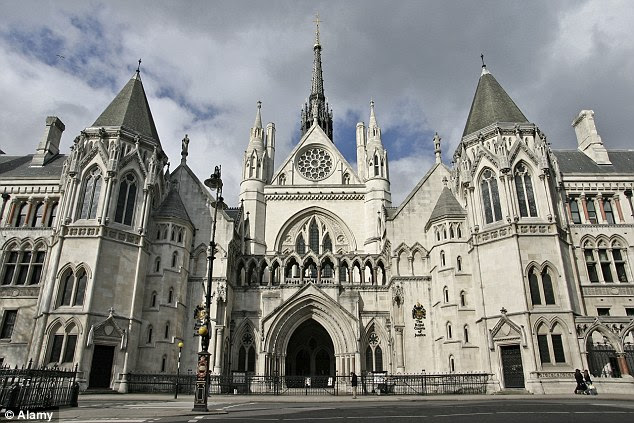 Today, three judges sitting at the Court of Appeal in London, pictured, ruled it had been 'unduly lenient' to set Salisbury free and handed her an immediate jail term of three years
