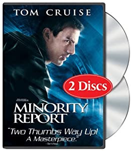 """Cover of """"Minority Report (Widescreen Two..."""