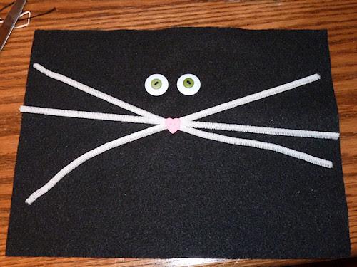 Black Cat Pillow - Step 3