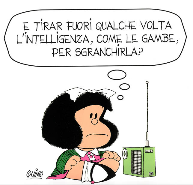 era la mattina di natale...: L'intelligenza...