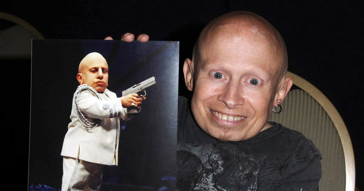 Verne Troyer, (mini-me) dead at 49.