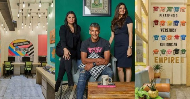 Milind Soman's office is equally as attractive as the model himself, catch glimpses of his work space inside