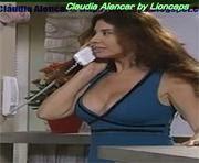 Claudia Alencar sensual em vários momentos da carreira