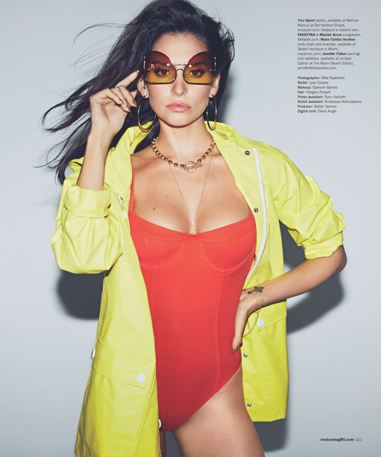 Genesis Rodriguez – Venice Magazine (Spring 2017)