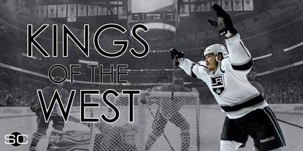 The Los Angeles Kings are going back to the Stanley Cup Finals after defeating the Chicago Blackhawks, 5-4, in Game 7 of the Western Conference Finals...on June 1, 2014.