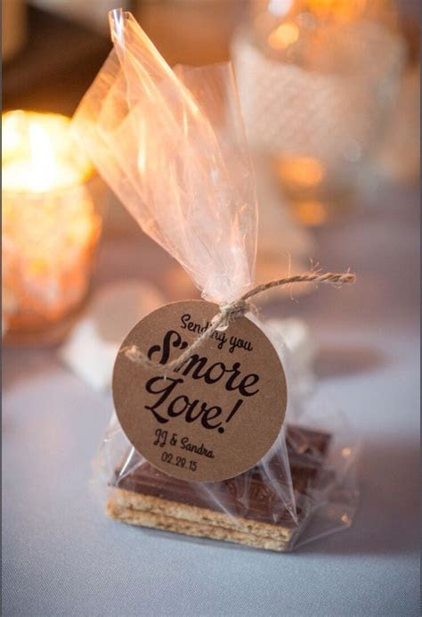 wedding favor tags ideas  pinterest wedding