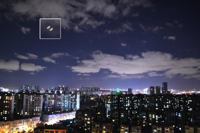 Imagen 8: Objeto aéreo anómalo fotografiado en Kunming, China. 16 de junio (2015). Crédito: MUFON