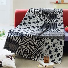 Animal Print Bedding and Blankets on Pinterest