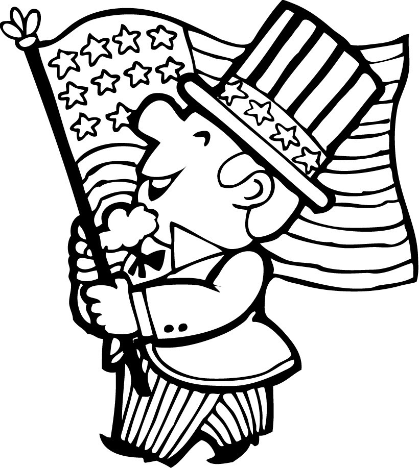 4th of july parade coloring pages - Hellokids.com